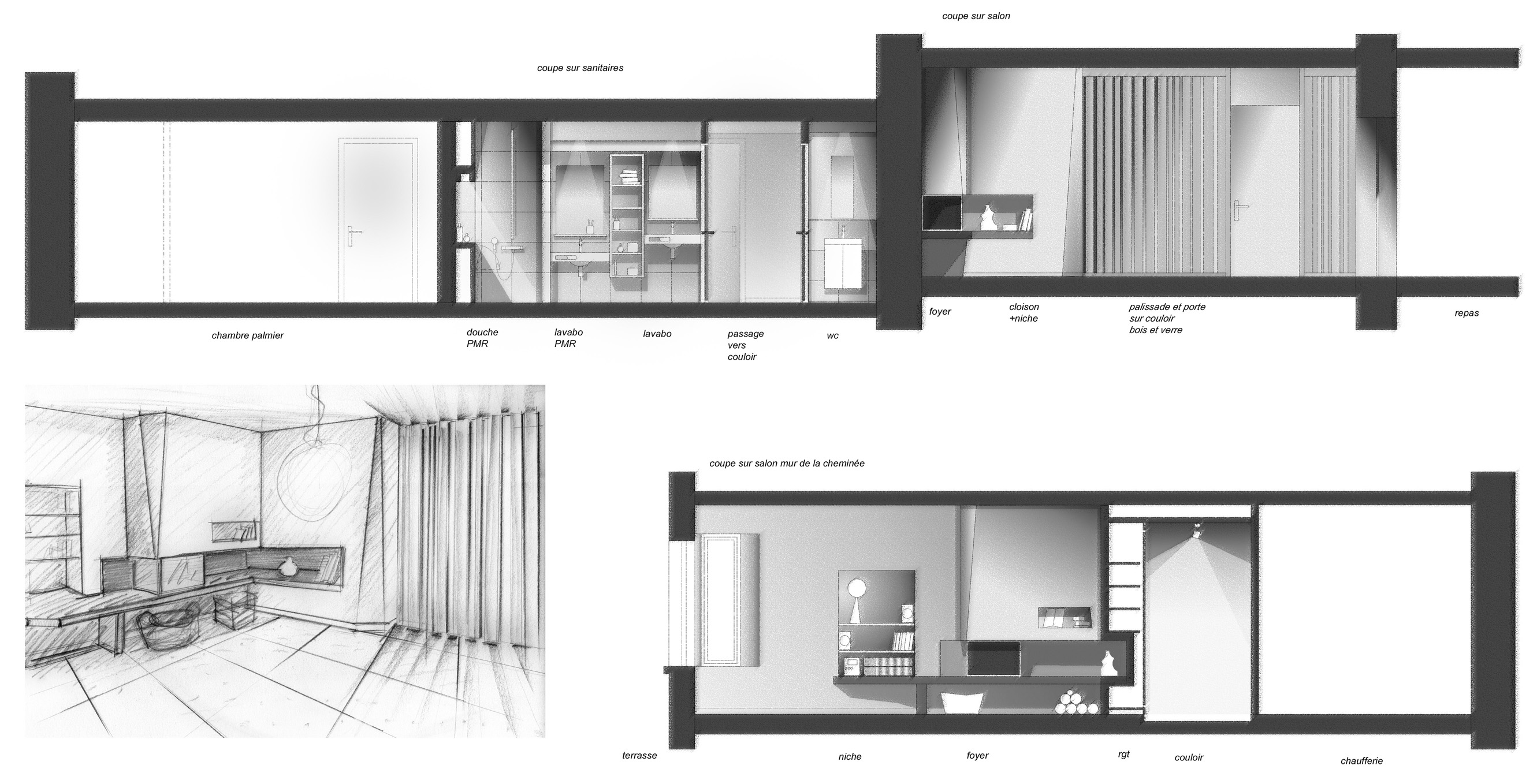 croquis gallery categories yann jourdan. Black Bedroom Furniture Sets. Home Design Ideas
